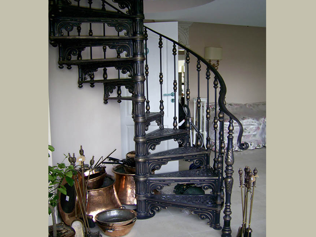 Modular Cast Iron Staircases